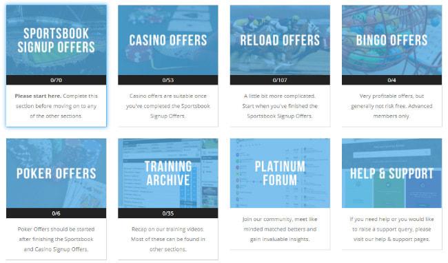 PA training page